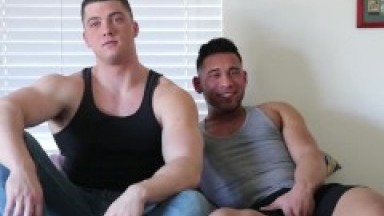 Young Hot Dudes Aggressively Foreplay, Kiss, BJ, Rim, Fuck