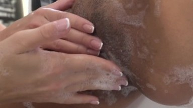 3 Young Lesbians in A Bubble Bath -21Sextury